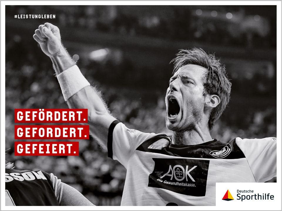 Wir unterstützen die Deutsche Sporthilfe