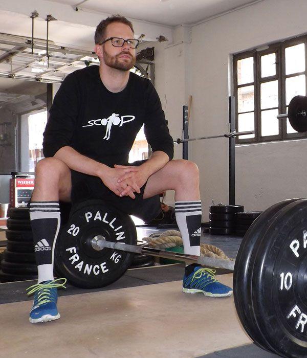 Personal Trainer Gerd Martin Fischer von Mollard in der Scoop