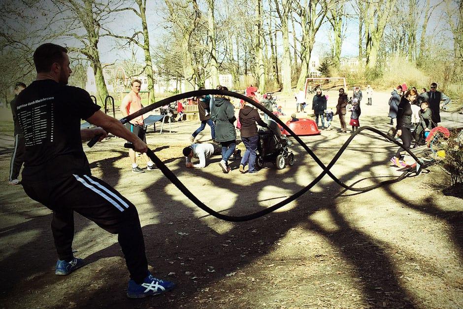 Outdoor Fitness Training in Hamburg